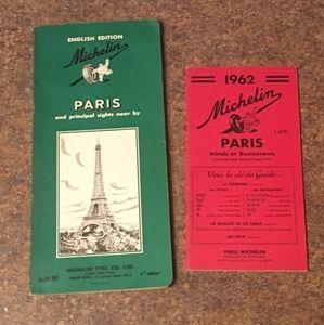 Other - Vintage Michelin Paris Hotel & Restaurant Guides